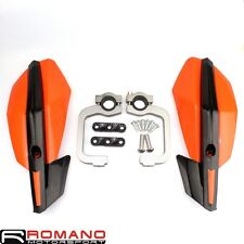 "7/8"" Handlebar Hand Guard Orange For KTM Dirt Bike Dual Sport Enduro Motorcycle"