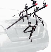 DELUXE 2 Bike Rack Carrier Car Vehicle Trunk Mount Bicycle Holder Travel Mounted