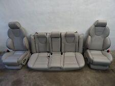 AUDI RS6 4B SITZE Ausstattung LEDER RECARO SILBER GRAU ORIGINAL S6 A6 RS NAPPA