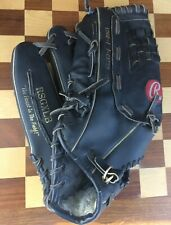 Rawlings LHT 14 Inch Supersize Black Softball Baseball Glove RSGXLB