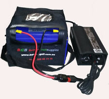 Lithium BGB LiFePO4 12.8V 30Ah Golf Battery & 5A Automatic Lithium Charger