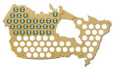 Beer Cap Traps Map of Canada Beer Soda Bottle Caps Organizer