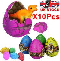 Growing Pet Egg Hatching Magic Gator Fun Toy Gift Dinosaur Eggs Kids Gifts Fun△