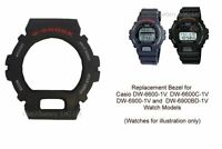 Casio Genuine Bezel for DW-6600 DW-6900 DW-6600C DW-6900BD - Watch Case Cover