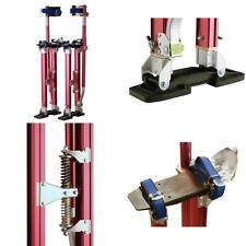 "1122 Pentagon Tool ""Tall Guyz"" Professional 24""-40"" Red Drywall Stilts For..."