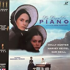 LASERDISC  - LA LECON DE PIANO -Holly HUNTER / Harvey KEITEL / Sam NEILL