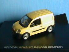 RENAULT KANGOO 2 COMPACT 2008 JAUNE AGRUME 1/43 ZAMAK UNIVERSAL HOBBIES YELLOW
