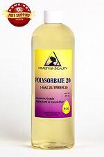 POLYSORBATE 20 T-MAZ 20 TWEEN 20 SOLUBILIZER SURFACTANT & EMULSIFIER PURE 48 OZ