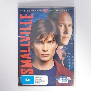 Smallville Season 5 DVD TV Series Free Postage Region 4 AUS - Superman DC Hero