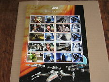 Star Wars British Stamp Sheets