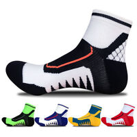 5 Pairs Hi-Q Men's Sport Basketball Football Running Casual Cotton Breathe Socks