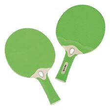 2x Spordas Tischtennisschläger Outdoor Wetterfest Unzerbrechlich 2 Schläger NEU