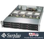 2U Storage Server 16 Bay LFF X10DRH-CT SAS3 2x E5-2620 V3 32GB RAM CHIA XCH RAID