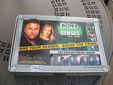CSI: CRIME SCENE INVESTIGATION  SENSES THE GAME - COMPLETE & UNUSED