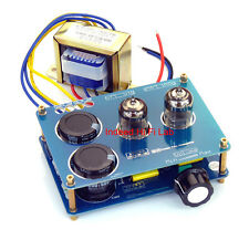 New Pre Amplifier 6N3 Tube AMP DIY Assembled KIT + 110V or 220V AC Transformer