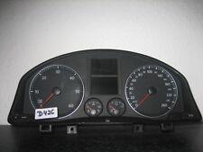 TACHIMETRO Strumento Combinato VW Golf 5 1k0920841p anno 05 Diesel Cluster Cabina Di Pilotaggio d426