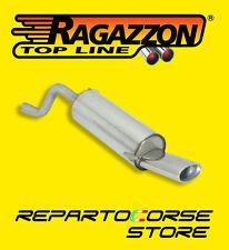RAGAZZON TERMINALE SCARICO OVALE 115 ABARTH GRANDE PUNTO EVO 1.4 Sport - 10/2009