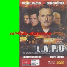 DVD LAPD: TO PROTECT & TO SERVE R4 Dennis Hopper Michael Madsen ALL REGIONS PAL