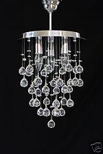 LUSTRE AVEC LE REAL cristal au plomb boules - Très rare Conception- NEUF