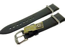 # l009 # orologi Braccialetto TESSILE lucertola Swarowski Bracelet Leather 18 mm