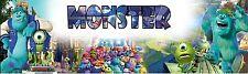 Monster University Peronalized Custom Name Poster Banner 8.5x30 - Great Gift