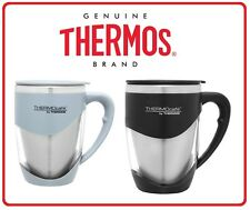 ❤ 375ml Thermos STAINLESS STEEL INSULATED Inner Double Wall Desk Cafe Tea Mug ❤