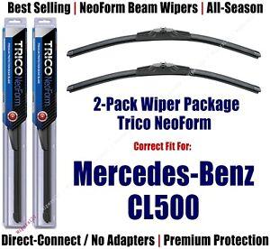 2pk Super-Premium NeoForm Wipers fit 2000-2006 Mercedes-Benz CL500 - 162812x2