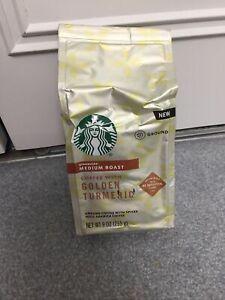 Starbucks Coffee with Golden Turmeric, Medium Roast Ground Coffee 9 oz