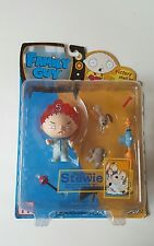 New Family Guy Bedtime Stewie Action Figure Series 1 Rare Eye Variant