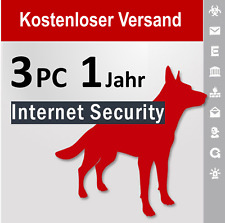 G Data Internet Security 2018 Vollversion GDATA 3 PC / 1 Jahr plus Bonus-Periode