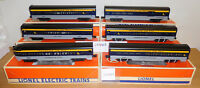 LIONEL 19153 /64 CHESAPEAKE OHIO 15'' ALUMINUM PASSENGER 6 CAR SET O SCALE TRAIN