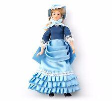 Dolls House Figura 1//12th SCALA Resina Poly//ragazza vittoriana con cane