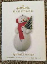 Hallmark Keepsake Spirited Snowman New In Box