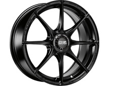 OZ RACING FORMULA HLT MATT BLACK 8X18 ET35 5X112 set of 4 ALLOY WHEELS