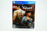 Yakuza 6 The Song of Life Essence of Art Edition: Playstation 4 [Brand New] PS4