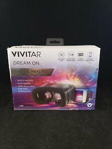 New Vivitar Dream On Virtual Reality Headset -  Immersive VR Viewer