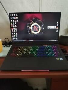 Aftershock Apex 17 i7-8750h gtx 1060 Gaming Laptop