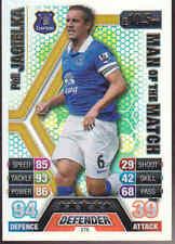 MATCH ATTAX 13/14 Phil Jagielka EVERTON Man Of The Match Card No.376