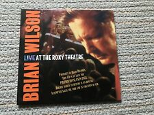 Brian Wilson - Live At The Roxy Theatre CD Promo 1 Disc Sampler Numbered M-