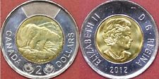 Brilliant Uncirculated 2012 Canada New Style 2 Dollars From Mint's Roll
