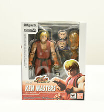 Bandai S.H.Figuarts Street Fighter No.07 Ken Masters Figure NIB Ships from USA