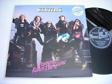 """Scorpions Passion Rules the Game 1988 12"""" Import 45rpm EP VG++"""
