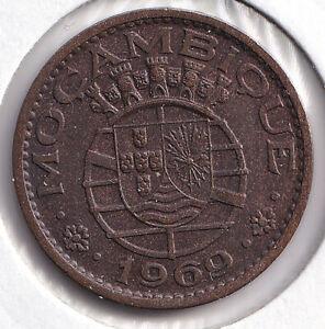 Mozambique • Moçambique • 1969 • 1 escudo • KM 82 • Uncirculated