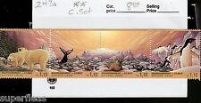 1993 United Nations Geneva #243a ** MNH Whale, Polar Bear, Penguin, Sea Lion