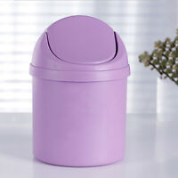 Mini Small Waste Bin For Desktop Garbage Basket Table Home Office Trash Can Hot