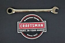 Craftsman Ratcheting Wrench Any Size Metricsaein Open Box End Combination Tool