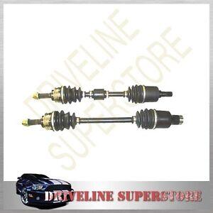 SUZUKI SWIFT GTI 1.3L DOHC 1989-1998 TWO BRAND NEW CV JOINT DRIVE SHAFTS  new