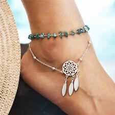 Chain Anklet Ankle Bracelet Rs Multilayer Boho Bead Barefoot Sandal Dreamcatcher