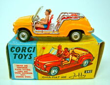 "Corgi 242 Fiat ""Jolly"" Taxi orange in Box"