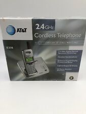 NEW AT &T CORDLESS TELEPHONE WITH CALLER ID/ CALL WAITING